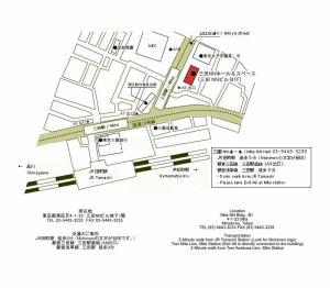 三田NNホール地図